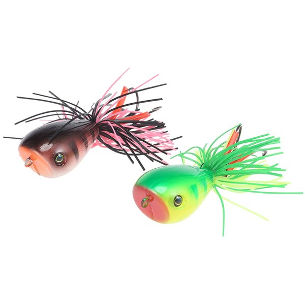 3D Frog Fishing Lure Artificial hard fishing bait Wobblers Pencil Fishing Minnow hard Worm Fish Lures Artificial Bait Bass Hooks Tackle