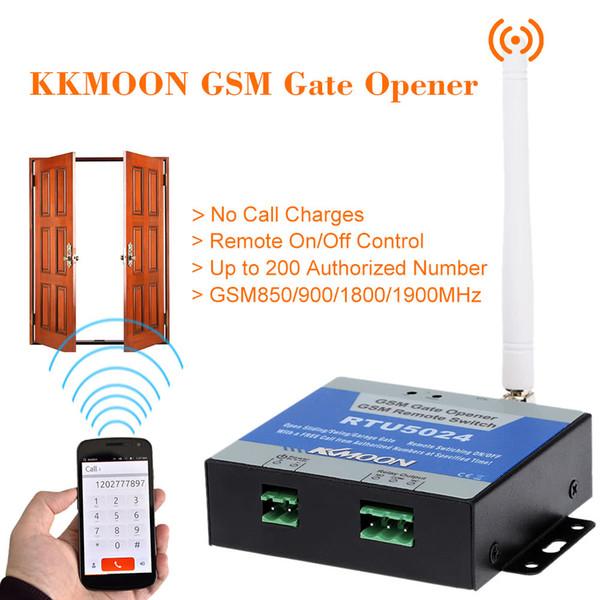 Wireless GSM Tür Toröffner Relais Fernbedienung Ein / Aus-Schalter Kostenloser Anruf Für Fensterläden Elektrische Schaukel Schiebe Garagentore Toröffner