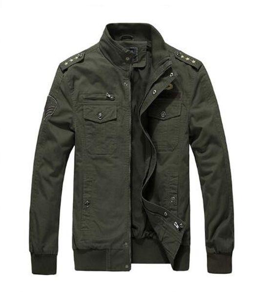 Sonbahar kış erkek ceket pamuk rahat yaka ceket Kabanlar Palto giysi