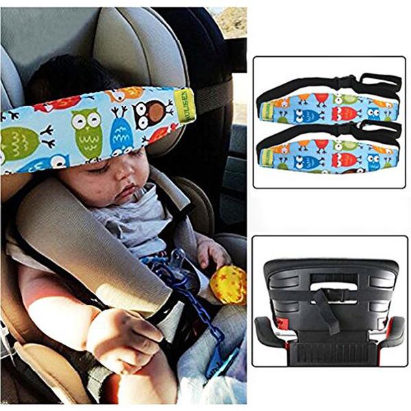 du siège d'auto pour bébé tout-petits bébés tête Soutien à la bande de ceinture de sécurité voiture carseat sangles Couvre enfants Slumber Sling sécurité sommeil Titulaire