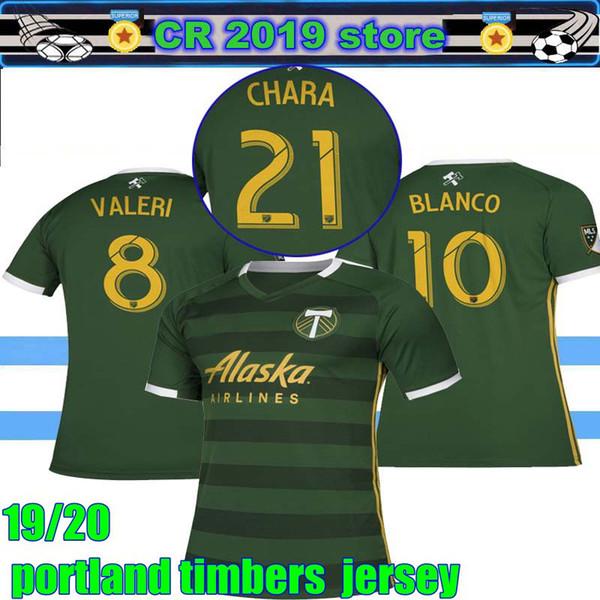 new styles 7d3c1 6e9e3 NEW 2019 2020 MLS Men Portland Timbers Home Soccer Jerseys 19 20 BLANCO  CHARA VALENTIN VALERI MEN Portland Timbers Football Jersey Shirts UK 2019  From ...