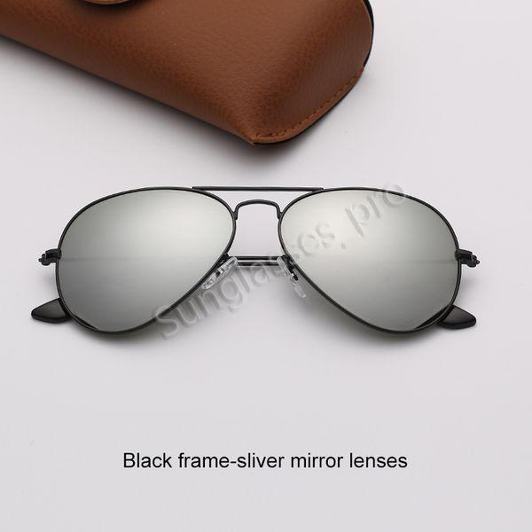 Siyah çerçeve-şerit ayna lensleri