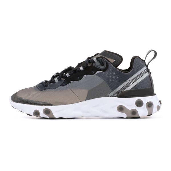 2019 React Element 87 55 running shoes men women top quality Royal Tint Sail Anthracite black trainer fashion breathable sports sneakers