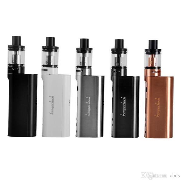 Plus récent Kangertech Subox Mini-C Starter Kit 50W Subox Mini C 18650 Box Mod 3ml Top Remplissage du réservoir de risque de fuite vs Subox nano 50w vente Hot DHL gratuit