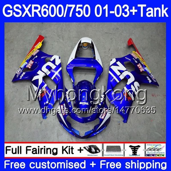Blue Radiator Hose For 06 07 08 09 SUZUKI GSXR600 GSXR 600 GSXR750 GSXR 750 K6