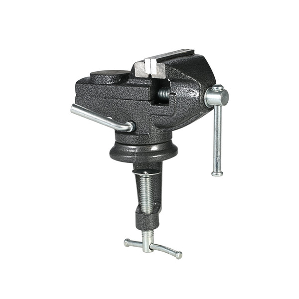 50/60mm Heavy Duty Table Vise Swivel Lock Clamp Hobby Craft Repair Tool