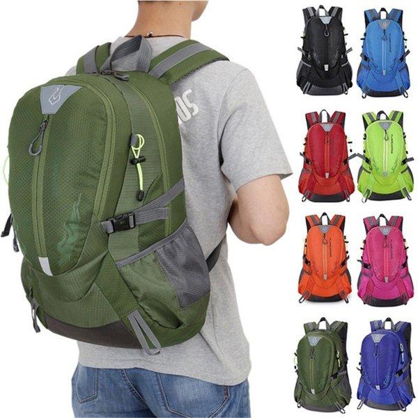 50L большой емкости открытый рюкзак пешие прогулки путешествия многофункциональный сумка Спорт кемпинг рюкзак #108830