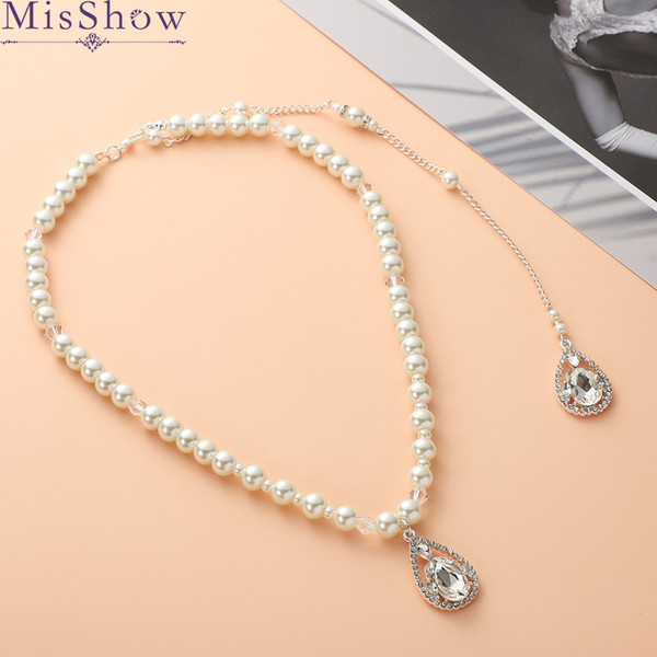Collana di perle romantiche Collana di perle barocche Gioielli di perle barocche di alta qualità