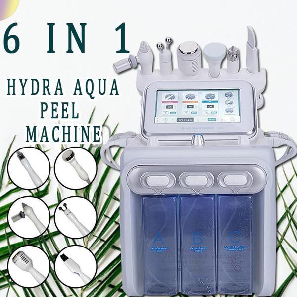 6 in 1 macchina di dermoabrasione del diamante con microdermoabrasione e macchina di bellezza di ringiovanimento della pelle di pulizia del viso dell'irroratore dell'ossigeno
