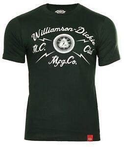 Мужские футболки DiFunnyies темно-зеленый / белый WD MC Club 06-210105-gh