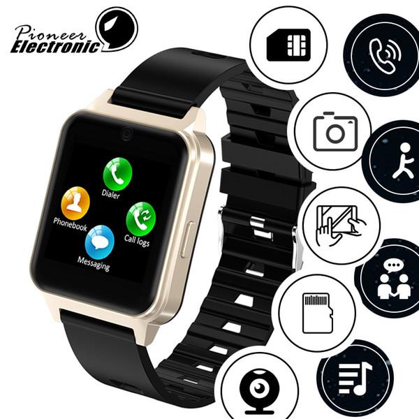 Für apple iphone neueste android bluetooth smart watch 2019 smartwatch unterstützung sim tf karte mit kamera pk gt08 dz09 a1