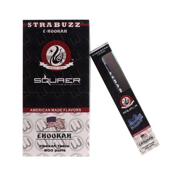 Squaer Starbuzz hookah time disposable cigarettes 280mAh E hookah Portable shisha pen 800 Puffs disposable vape pen