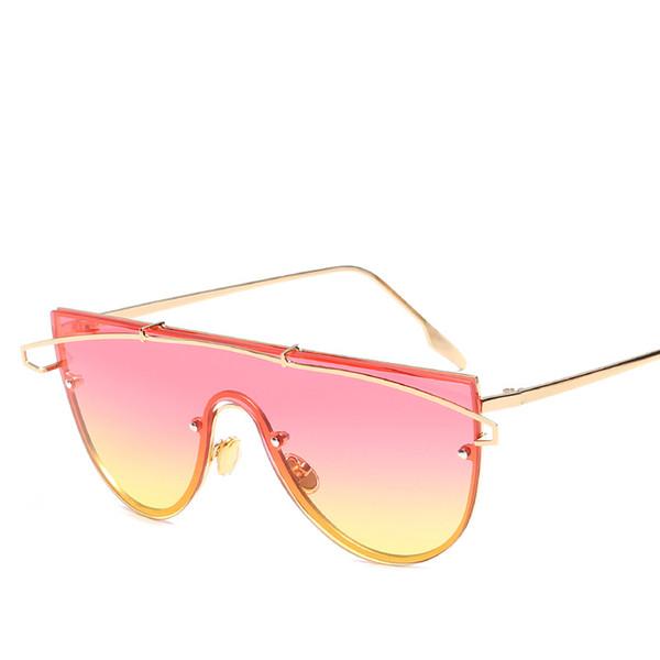 New Fashion Sunglasses Full Frame Retro Glasses Luxury Metal Eyewear Good Quality Uv Protection Street Beach Popular Sunglasses