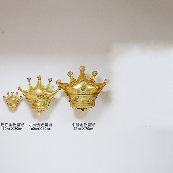 Crown Decoration Balloon Wedding Celebration Birthday Festival Party Balloons ith Golden Color Hot Selling New Pattern 2 7fe3 J1