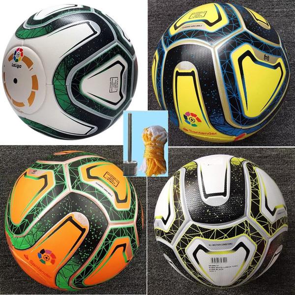 top popular new 2019 2020 la liga soccer balls Merlin ACC football Particle skid resistance game training 19 20 Soccer Ball size 5 2021