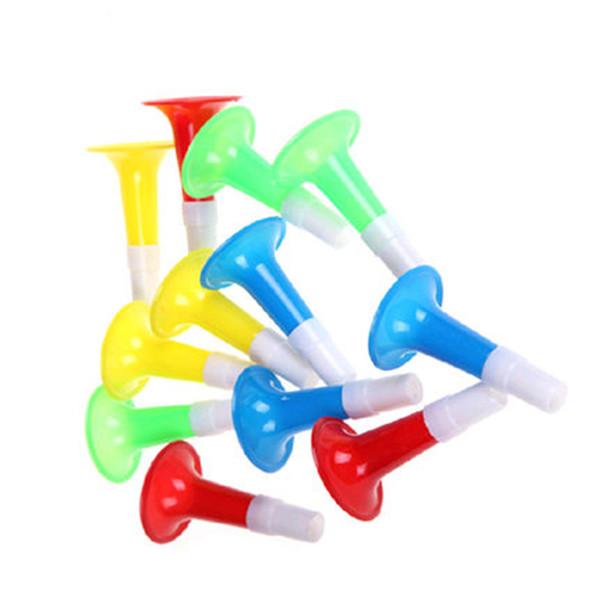 Grosshandel Mini Horn Trompete Kinder Spielzeug Gerauschhersteller Fussballspiel Fans Jubeln Requisiten Geschenk Spielzeug Halloween Party Supplies Von