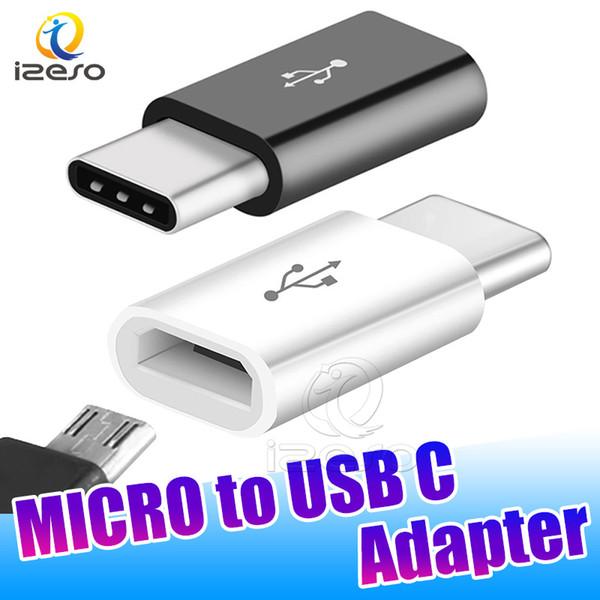Micro adattatore USB C Micro convertitore maschio-femmina Tipo C maschio Tipo-c Convertitore per Macbook Xiaomi Huawei Samsung