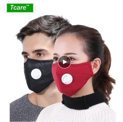 best selling Anti Pollution Mask Dust Respirator Washable Reusable Masks Cotton Unisex Mouth Muffle for Allergy Asthma Travel  Cycling