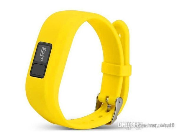 Soft Silicone Replacement Wrist Watch Band Strap for Garmin Vivofit3 Vivofit 3 Smart Watch 2019