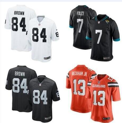 best authentic 2443e 96c38 2019 2019 Odell Beckham Jr Jersey Antonio Brown Nick Foles Cleveland  Oakland Browns Raiders Tyrann Mathieu American Football Jerseys Pro Bowl  From ...