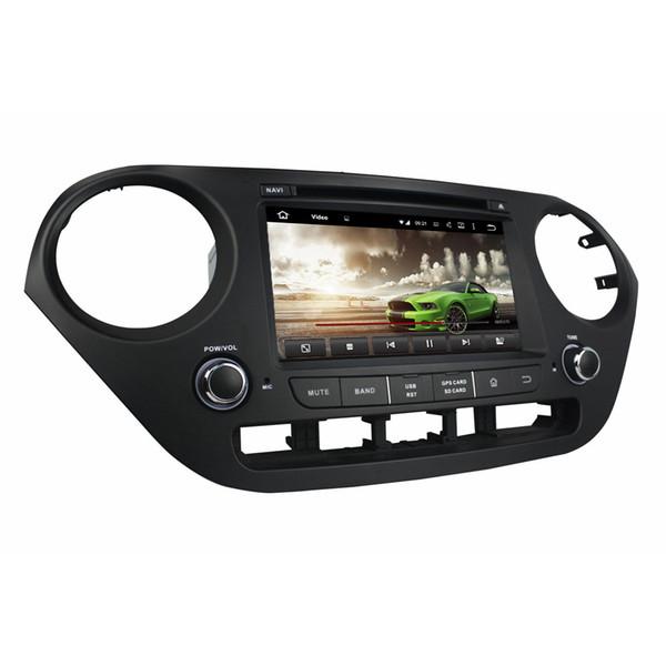 "4GB RAM Octa Core 2 din 7"" Android 8.0 Car dvd Player for Hyundai i10 2014 2015 RDS Radio GPS Bluetooth WIFI USB DVR OBD Mirror-link"