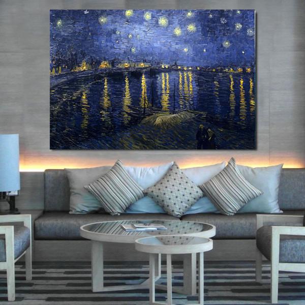 Senza cornice 80cmx60cm albero Vincent van Gogh capo barca HD stampa Olio su tela pittura digitale Wall Paper Art Immagini allestimenti manifesti
