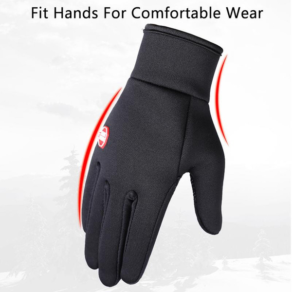 Winter Warm Outdoor Sports Wind Stopper Cold Weather Screen Gloves Unisex US
