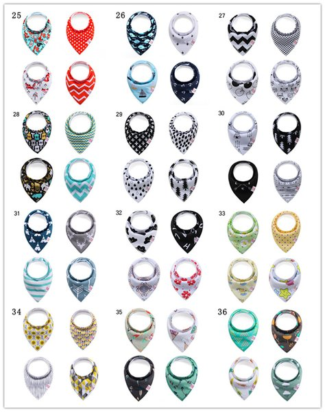 best selling Wholesale 100% organic cotton baby bandana drool bibs Hot Sale Knit Cotton Colorful Gift Set for Drool