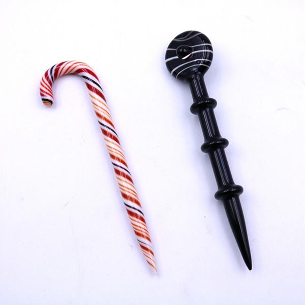 4.5inch Glass Pencil Vaporizer Pen Dabber Tools Oil Wax Carb Cap Dab Tool for Quartz Banger Nail Glass Bong Dab Rigs