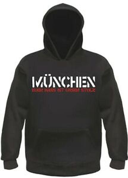 Munich Hoodie Nefretiniz Gururumuz Hoody Hoodie