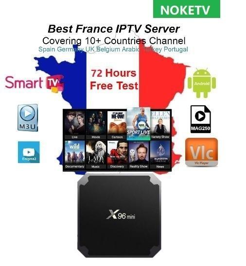 noketv French Arabic Iptv Assinatura Netherlands France Iptv 1 Ano para Android M3U Para Smart TV Mag 254 Mag 250 x96mini