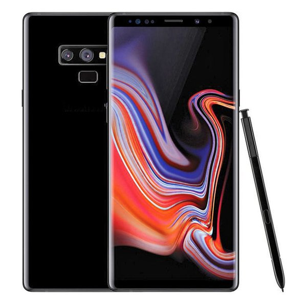 Goophone 9 note 9 note9 N9 6.3inch téléphone portable MTK6580 Quad Core 1G 8GB Note 8 1280 * 720 Voir 4G ram 64G voir 4G lte GPS WIFI Smartphone