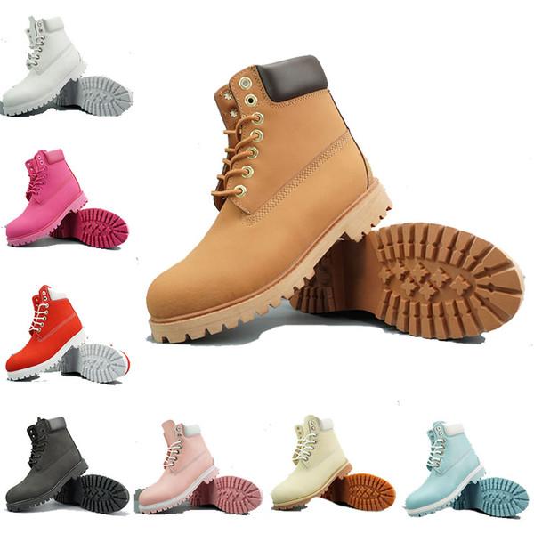 Herren Designer Stiefel TBL Mode klassischen Winter Schnee Stiefel Damen warm Beste Qualität gelb schwarz Camo Knöchel Wasserdichte Outdoor-Sportschuhe