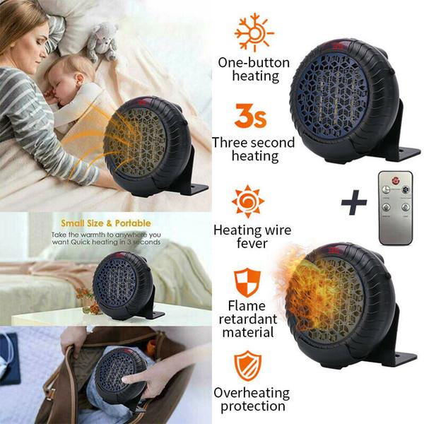 2020 Newest 900w Mini Portable Ceramic Small Space Heater Electric