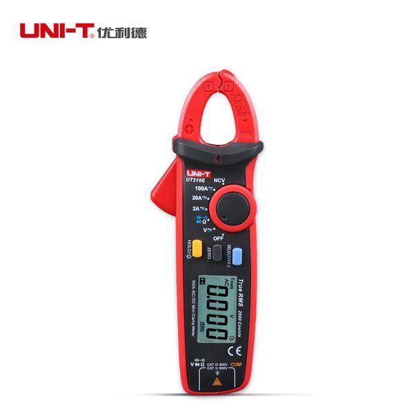 UNI-T UT210E Digital Clamp Meter True RMS AC DC Current Clamp Meters Capacitance Tester Mini Digital Multimeter VFC Megohmmeter