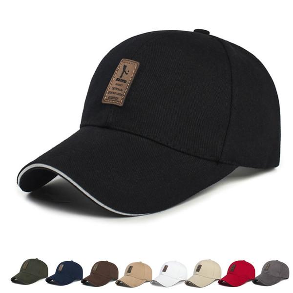 Moda Unisex alta calidad del sombrero Sun casquillos ajustables de impresión de letras sombreros del Snapback al aire libre de verano de Protección Solar gorra de béisbol regalo DBC DH1208