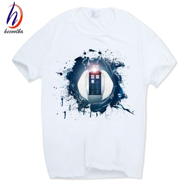 Men's Doctor Who T-shirt Short sleeve O-Neck DR WHO Daleks Exterminate To Victory Sitcoms Customized Tshirt HCP397