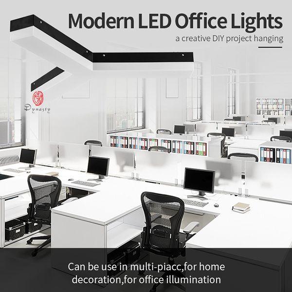Modern Aluminum Hanging Lights Irregular Shape Ceiling Lights DIY Office Studio Fitness Club Lighting Decoration Pendant Lamp Dynasty Light