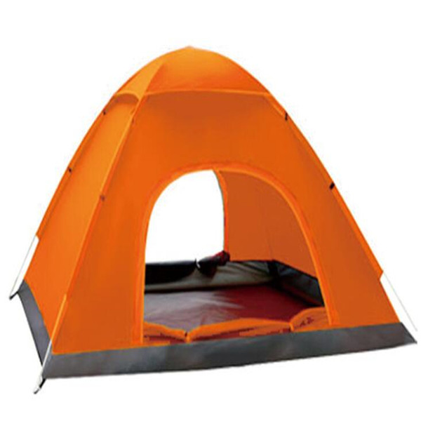 Wholesale 30pcs/lot outdoor waterproof tent traveling fishing 2 person camping tent Portable UV-resistant Rain 200x150cm CTS002