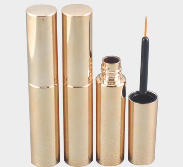 Nuevos 550pcs Style x 8 ml vacío UV Mascara de pestañas Plata Oro tubo frasco de la botella de líquido del envase y 8 cc Delineador de ojos Maquillaje Tubo