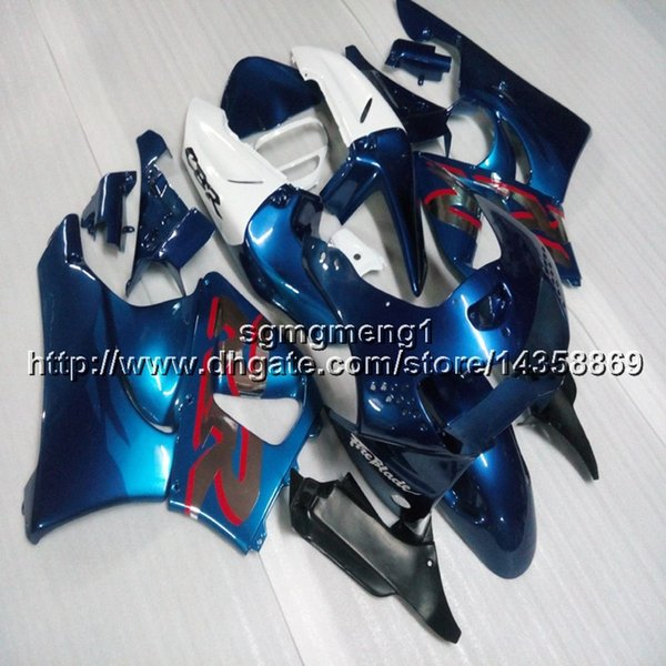 Paneles de la motocicleta 23colors + Screws blue white para HONDA CBR919RR 1994 1995 1996 1997 CBR900R ABS Plastic Fairing hull