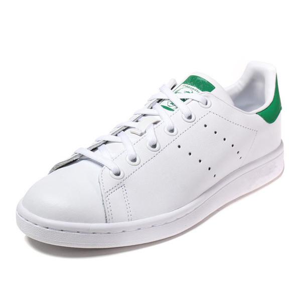 Top qualité femmes hommes nouveau stan chaussures mode smith sneakers chaussures de sport en cuir sport classique appartements 2019 taille 36-45