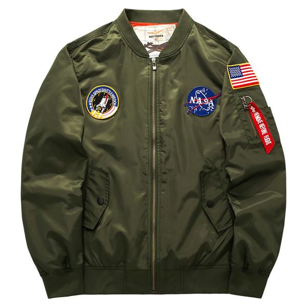 Yeni erkek Giyim Pamuk Ceket MA-1 Hava Kuvvetleri Uçuş Ceket erkek Kalınlaşma ve Besi Ekstra Büyük Dış Ticaret Toptan Çevrimiçi