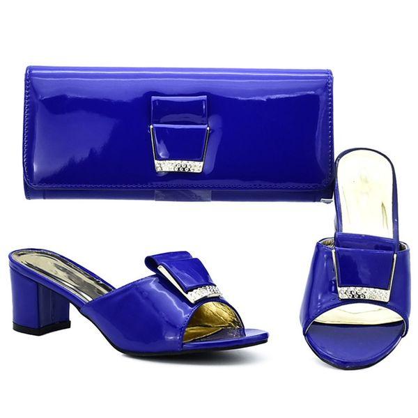 2019 brand fashion designer luxury handbags purses Italian Heeled shoes bag set for women Knot Italiaanse Hoge Kwaliteit Afrikaanse Bruiloft