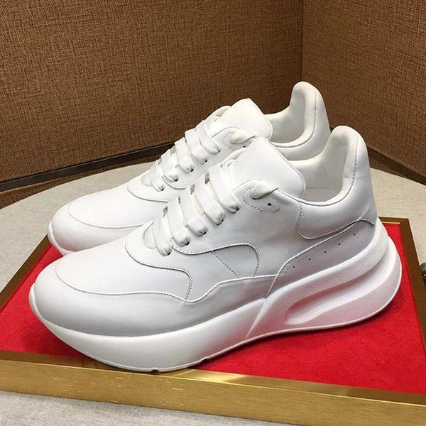 Zapatos de gran tamaño Runner hombres de la nave de la gota suaves Footwears caminar al aire libre de la vendimia lightweigth-top con cordones de los zapatos de los hombres con la caja de Origen