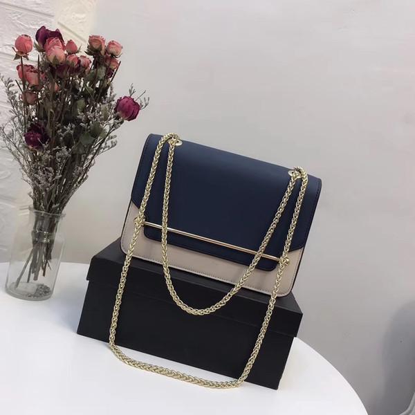 cff28431a Mais novo venda quente estilo moda mulher saco de marca de designer de couro  com alça