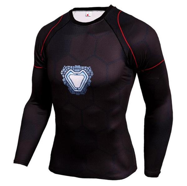 Mens Compression Shirts 3D Teen Wolf Jerseys Long Sleeve T Shirt Fitness Men Lycra MMA Crossfit T-Shirts Tights Brand Clothing C13
