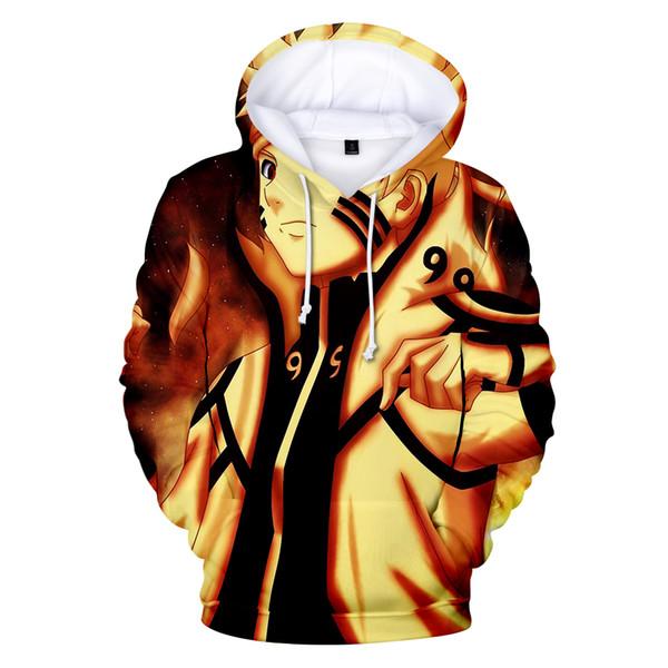 2019 Naruto 3d Hoodies Men/women Fashion Animation Hot High Quality Streetwear Harajuku 3d Print Naruto Men's Hoodies Sweatshirt