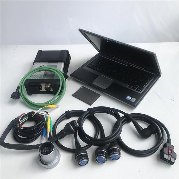 Full-soft ware 2019,07 X / DTS / WIS / EPC D630 4G MB STAR C5 SD Connect Compact 5 outil de diagnostic avec WIFI MB voiture et camions