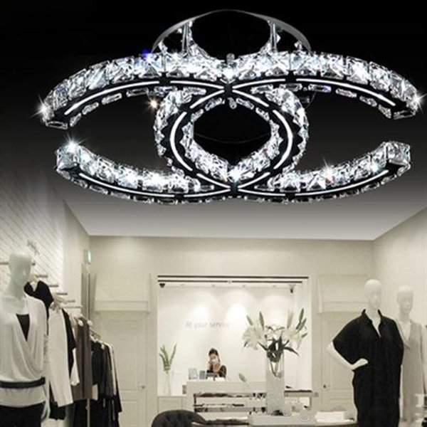 Luxury led cry tal ceiling chandelier light lighting k9 cry tal chandelier ceiling lamp lu tre de cri tal for living room foyer re tauran